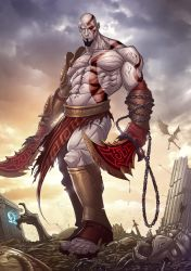 God of War 3 by PatrickBrown