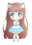 Charlotte Chibi 2 by TaitRochelle