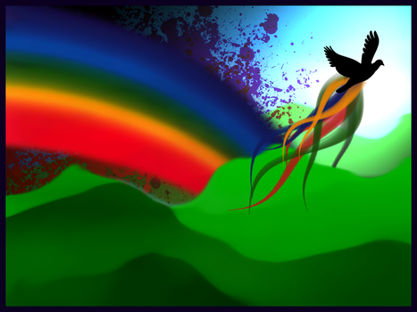 That of a Rainbow by CynicalButter