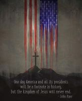 America won't last forever by kevron2001
