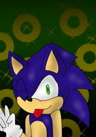 Art Trade: Sonic the Hedgehog by Soshadilver