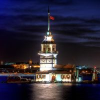 maiden's  tower by matricaria72