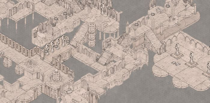 Epic Isometric core set is here by alexdrummo