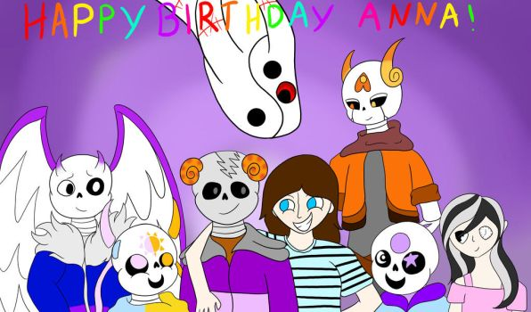HAPPY BIRTHDAY ANNA!! by Zontickles