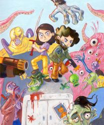 Zombies by Gigei
