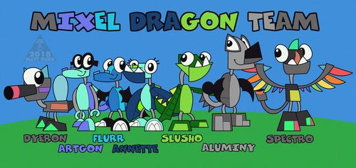 .:Mixel Dragon Team:. by TheYoshiState