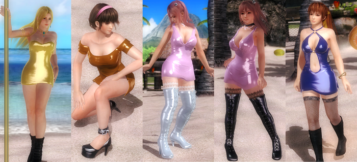 [MOD PACK] Slutty Dress Theme Set 2 by funnybunny666