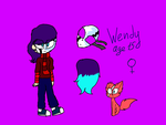 Wendy by Game Sally Face by astya45