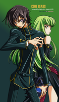 Lelouch and CC Vector by sonic12399