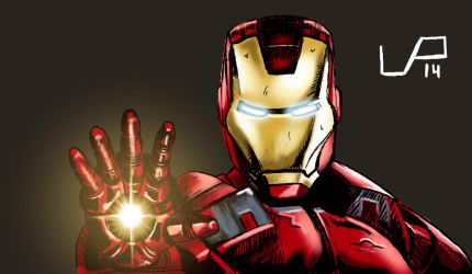 fanart Iron Man by Darthandart