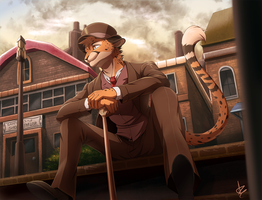 Com: Dapper Cat by Seyumei