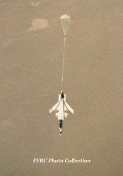 X-29 flight test with spin chute deployed by fighterman35