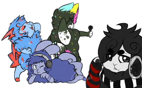 (prompt #2) errybody rockin out all night long by ncSerran