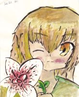This flower smells like crap by Candor-Shade