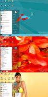Startmenu for Windows8 Consumer Preview by PeterRollar