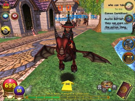 Wizard101 test realm picture 1 by evilkitta101
