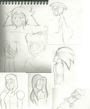 CompilationSketches by RobotHobo64