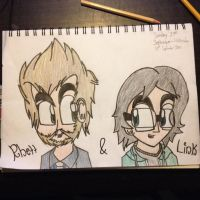 Rhett and Link by Riyana2