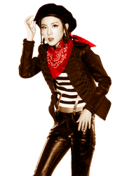 Dara - 2NE1 PNG Crush Japanese edit by babygreenlizard
