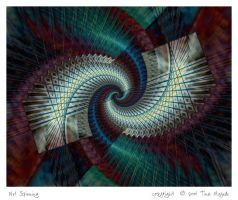 Net Spinning by aartika-fractal-art