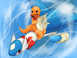 PMD - Latios by LilArrin