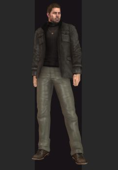 XPS - RE6 - Chris Redfield Personal Outfit by henryque999