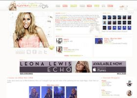 Leona Lewis Layout by toxicdesire