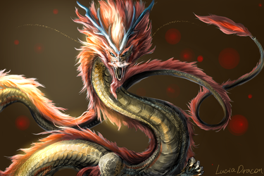 Chinese Dragon by Lena-Lucia-dragon