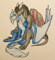 Gift: Hugs from back by Samantha-dragon