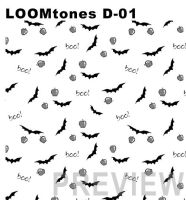 LOOMtones D01 Bats and Apples by LOOMcomics