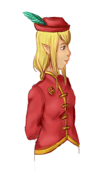 OC- Delia, the royal messenger by popinat