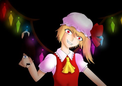 Flandre Scarlet by The-Plan-B