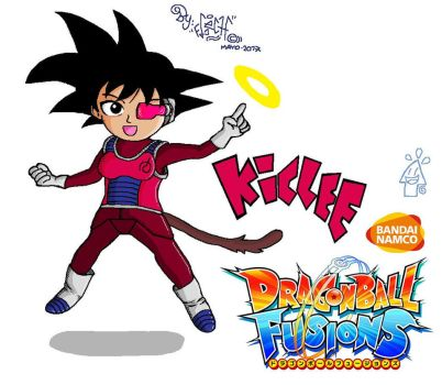 KICLEE FROM DRAGON BALL FUSIONS by Flexcorp