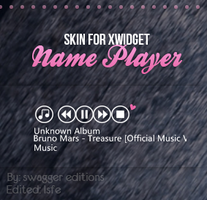 Skin for Xwidget- Name player by Isfe