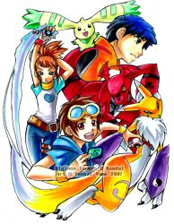 Digimon Tamers by YoukaiYume