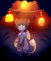 Fall Lights - Commission by Pixel-Coyote
