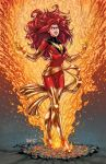 Dark Phoenix Colored by igloinor by DStPierre