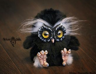 Owl Sowush 3 by Flicker-Dolls