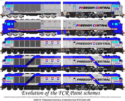 FCCorp.US Paint Evolution on the ACE-3000's by jgallaway81