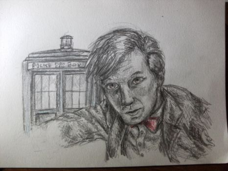 The 11th Doctor by Meli-ton-boots