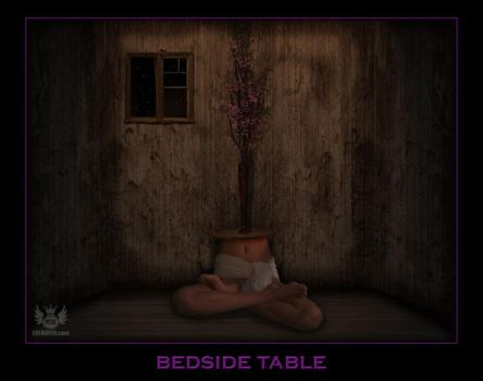 Bedside Table Small by ArtOfPedL