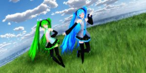 Tda Miku Hatsune normal 3.04 ver. by YamiSweet