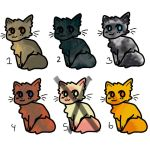 15 point cat adopts! by Legally-Vic