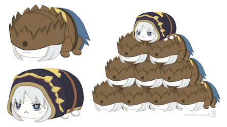 Tsum Tsum Princes by emlan
