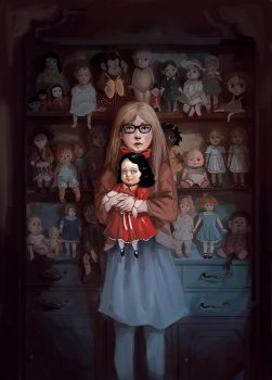 Hauntiques: Darling Doll by Rudeone