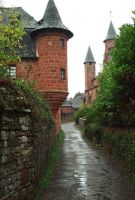 Collonges 06 - watch turret by HermitCrabStock
