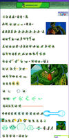 Imperfect Cell Sprite Sheet ULSW by orumaitoobeso