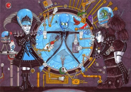 Penny Dreadful and Megamind's Dastardly Demise by AndrewJohnCraven
