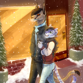 Merry Chrishma by Bloody-Dream-Wolf