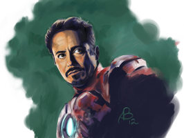 Iron Man by BenjaminKanderson